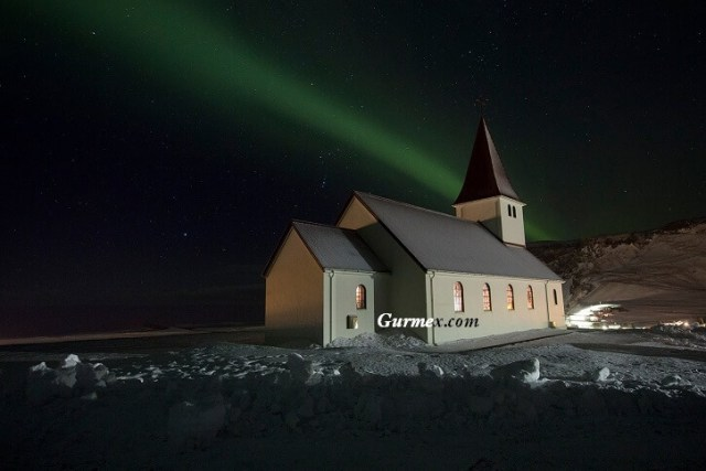 İzlanda kuzey ışıkları nerede görülür