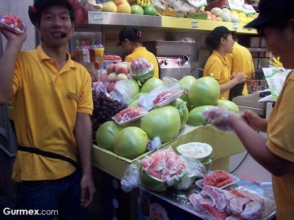 Çin Yeme İçme, Çinde hangi meyve sebzeler var
