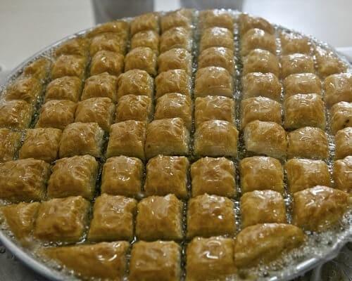 Baklava - Gaziantep Yemekleri, Antep Mutfağı Tatlılar
