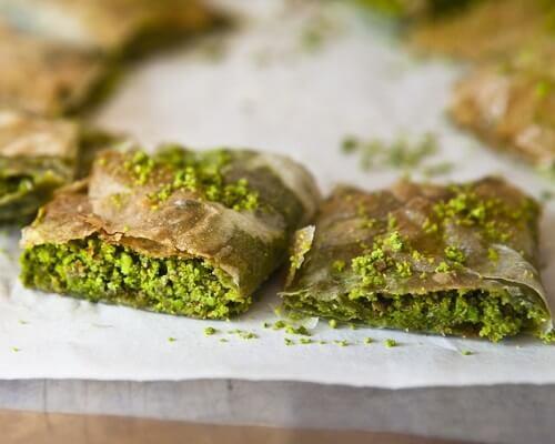 Katmer - Gaziantep Yemekleri, Antep Mutfağı Tatlılar