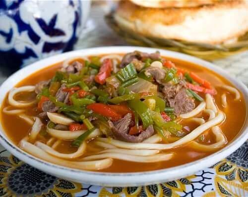 Kırgızistan Yemekleri, Kırgız mutfağı ve yemekleri, Lagman