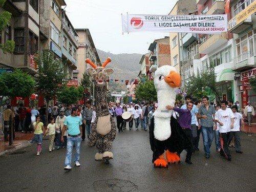 Yemek festivalleri, Gümüşhane kuşburnu pestil festivali