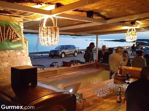 Ayazma Restaurant, Bozcaada beach plaj barlar
