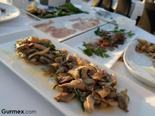 Yalova Restaurant,Çanakkalede ne yenir, mantarlı istiridye nerede yenir