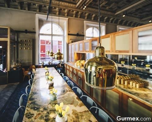 Salonplafond Viyana gurme yeme içme yerleri