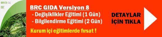 BRC Gida Egitim Versiyon 8