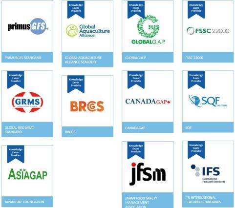 GFSI onaylı standartlar BRC IFS FSSC 22000