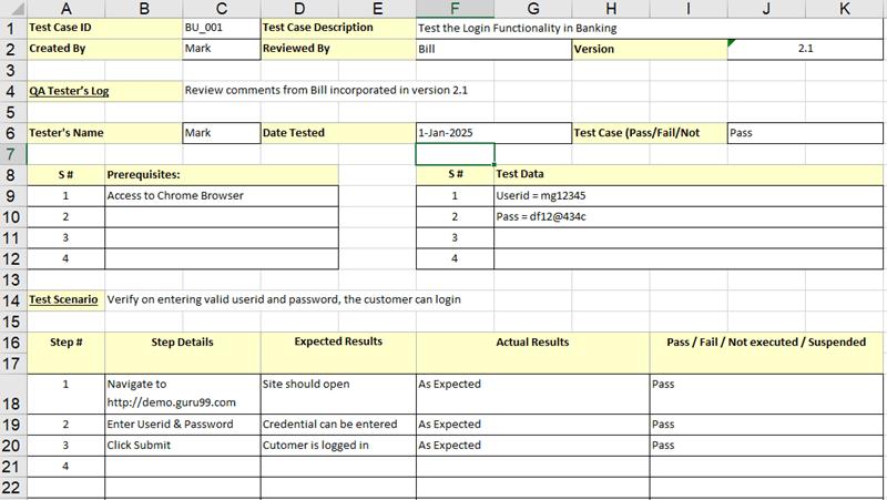 Test Templates free test templates laboratory test report – Test Templates Free