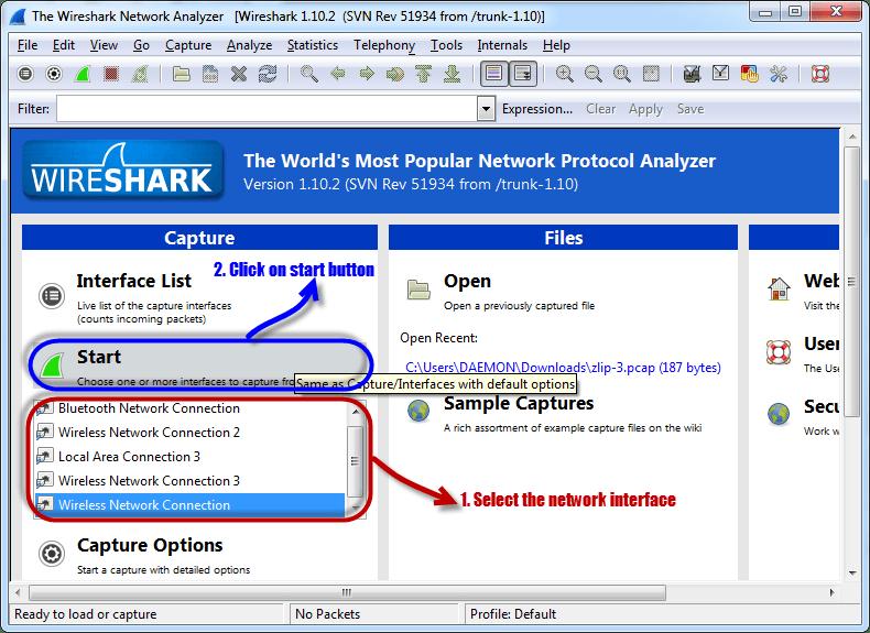 Wireshark Tutorial: Password & Network Sniffer - Chapter 11