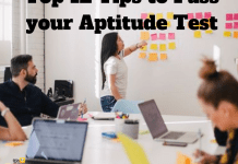 Top 15 Tips to Pass your Aptitude Test