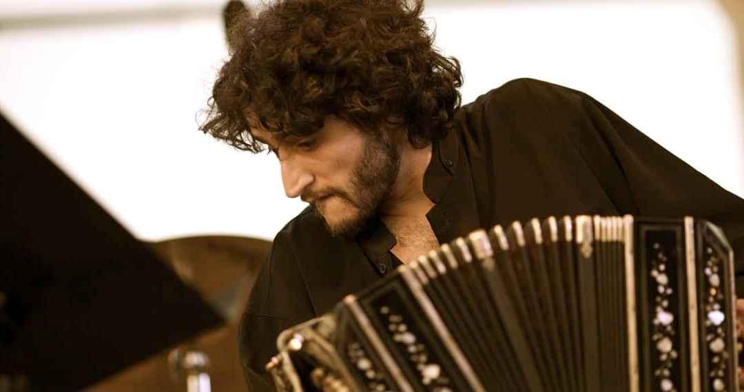 Martin Pugin, tango bandoneon player by Jimmy Baikovicius