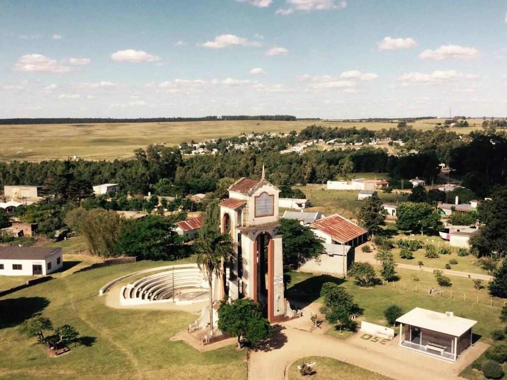 Water tower in Cerro Colorado