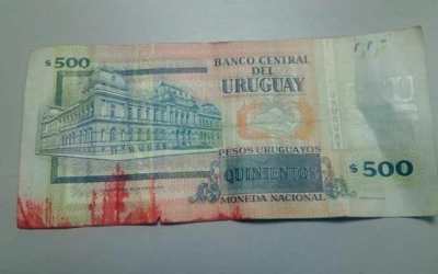 Beware of dye-marked banknotes