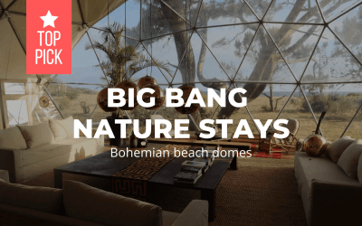 Big Bang Nature Stays – Bohemian beach domes