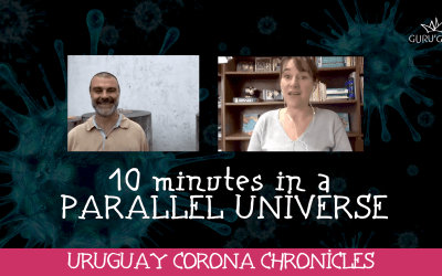 Feel good in quarantine: 10 minutes in a parallel universe