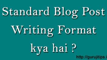 Blog Post Standard