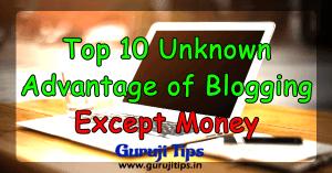 top 10 blogging benefit