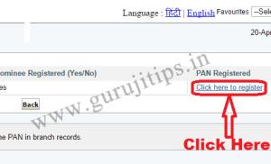 Register PAN