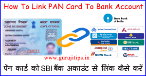 link pan to bank account