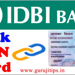 link pan with idbi