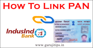link pan with indusind bank