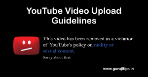 YouTube Copyright Strike in Hindi