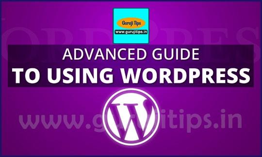 advanced wp guide