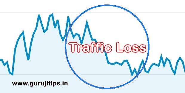traffic loss kyu hota hai