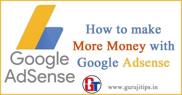 increase adsense income