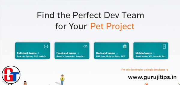 your team developer job