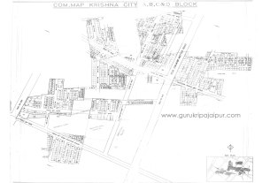 Krishna City 200 SQ YDS Plots Madrampura Saipura Diggi Road Jaipur