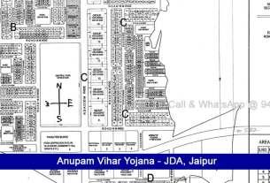Anupam Vihar Yojana JDA Scheme Jaipur Near Sez Mahindra Ajmer Road 162 SQ MTR Anupam Vihar