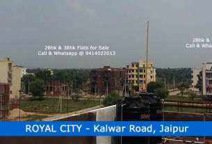 Royal City Jaipur Jda Approved Flats & Plot for Sale Hatoj Kalwar Road