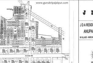 Anupam Vihar 252 Sq Mtr Jda Approved Plots Near Mahindra Sez Jaipur