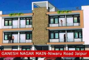 Ganesh Nagar Main 2 Bhk & 3 Bhk Flats for Sale Govindpura Kalwar Road Jaipur