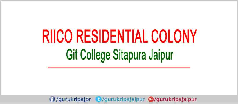 riico residential colony sitapura, jda approved plots