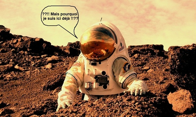 human-sur-Mars