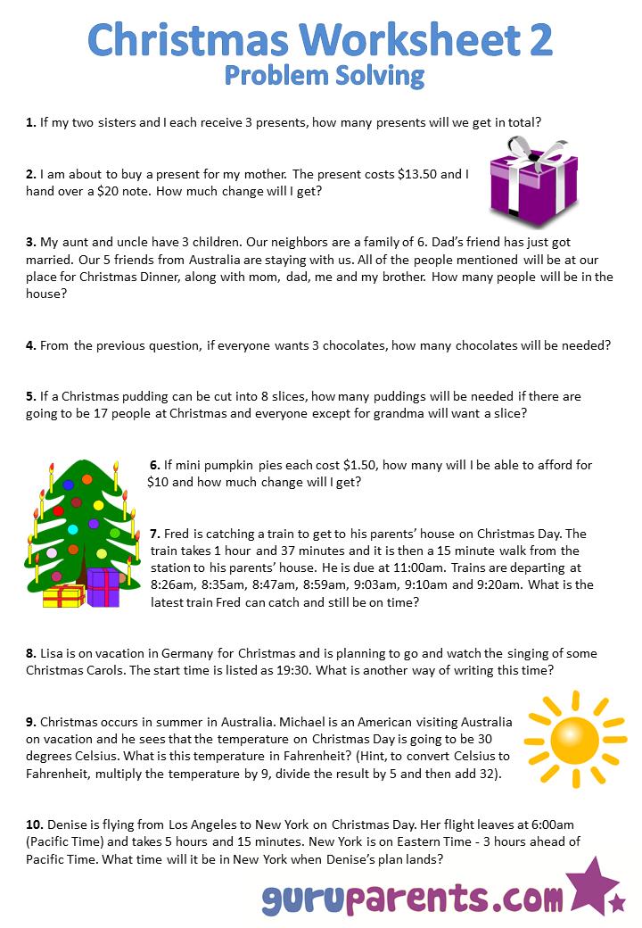 Christmas Worksheets