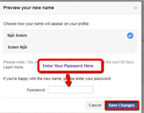 How to Change Your Facebook Name Now- 2020