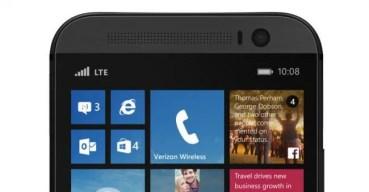 Así luce el HTC One M8 con Windows Phone