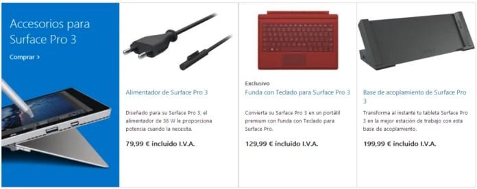 Surface-3-Accesorios
