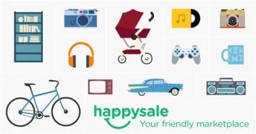 Happysale, la app que te permitirá vender o comprar de todo