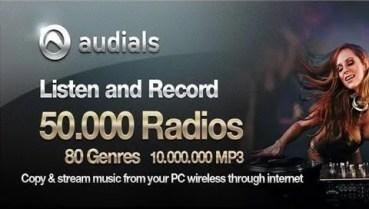 Audials Radio, para los amantes de la radio