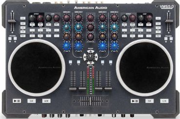 American Audio presenta en Atlantic City su nuevo controlador, el VSM-5