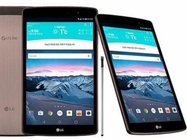 LG presenta una nueva tablet: G Pad II 8,3 LTE