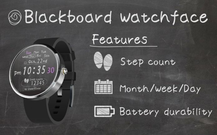 Blackboard-Watchface