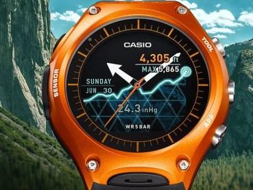 Casio ya tiene en venta su smartwatch WSD-F10