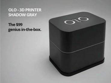 OLO 3D, la impresora 3D que arrasa en Kickstarter por $99