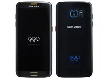 Las olimpiadas inspiran a la nueva versión del Samsung Galaxy S7 Edge Olympic Games