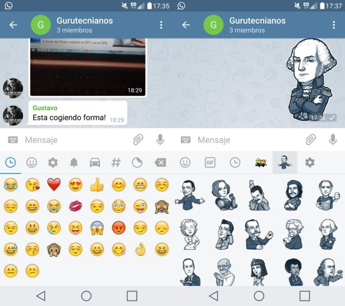 telegram emojis